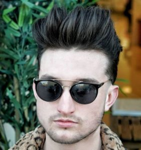Cool Long Men's Hairstyle