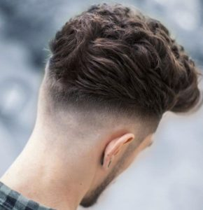 Modern Blowout Haircut + Mid Fade