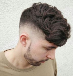 wedge hairstyles of men
