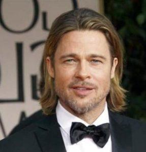 man shoulder length hair