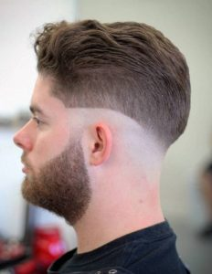 wave haircut of mens