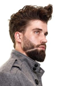 style wavy hair men