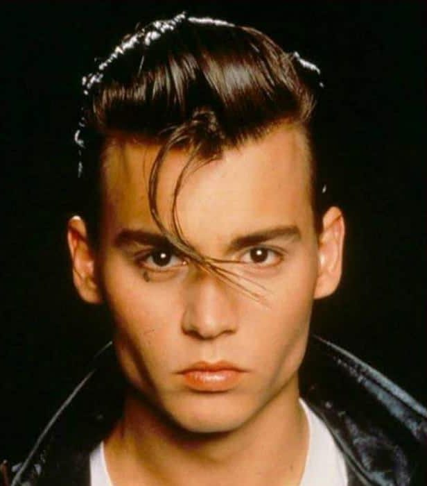 50s Mens Hairstyles Retro Slicked Back