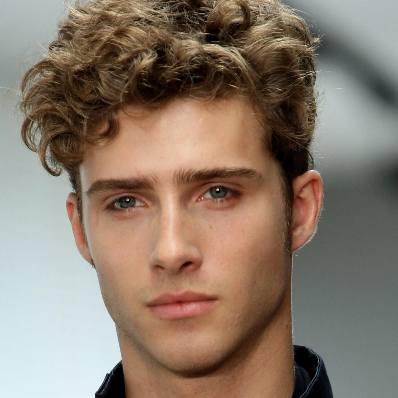 50s Mens Hairstyles Soft Curls
