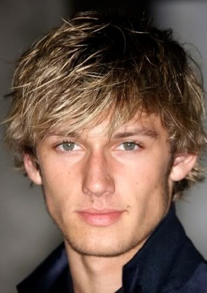 90s mens hairstyles Blonde Highlights
