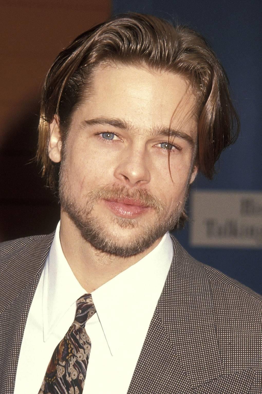 90s Mens Hairstyles Brad Pitt