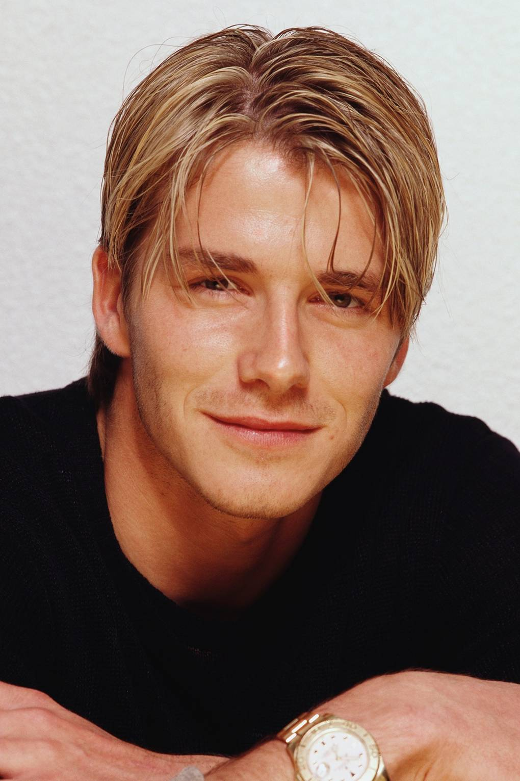 90s Mens Hairstyles David Beckham