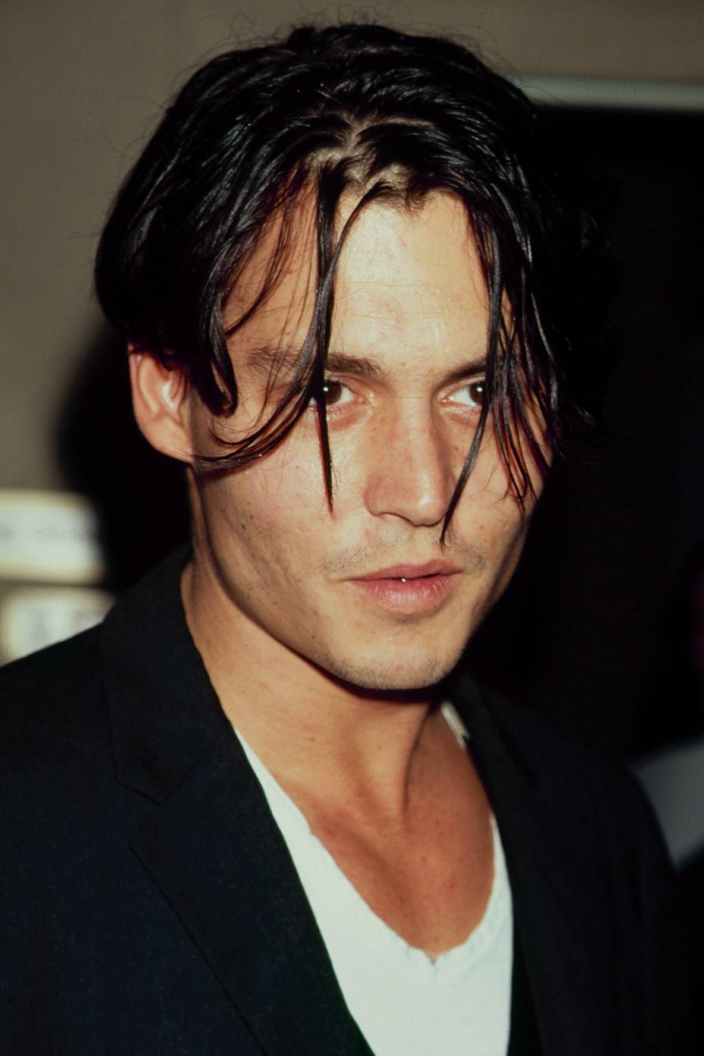 90s Mens Hairstyles Johnny Depp