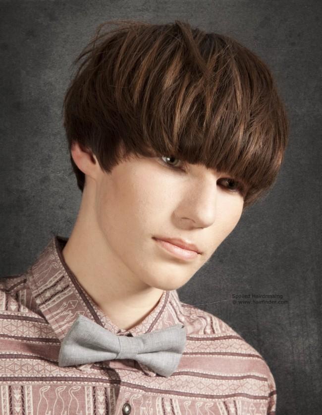 90s Mens Hairstyles Mushroom