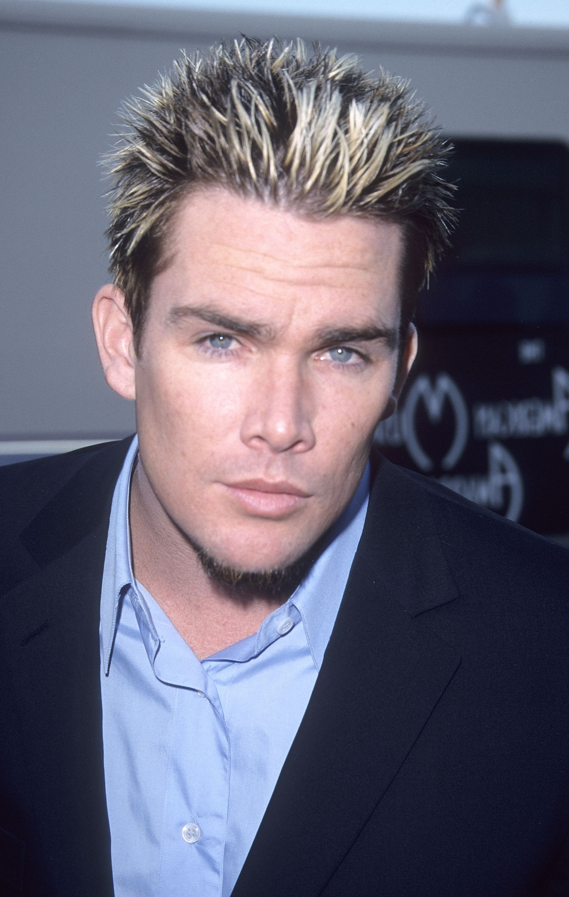 90s Mens Hairstyles Spiked & Bleached