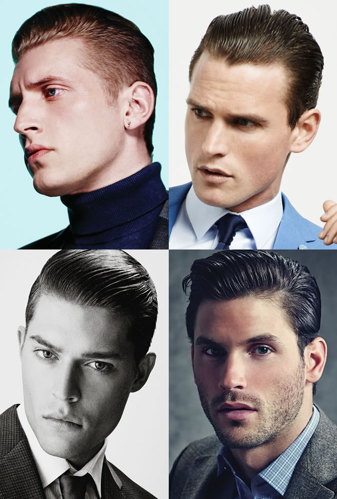 90s Mens Hairstyles The Slick Back