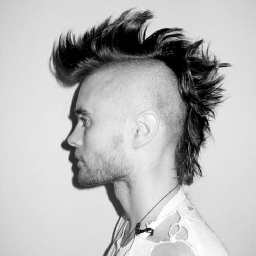 Mohawk Hairstyles for Men with Straight Hair