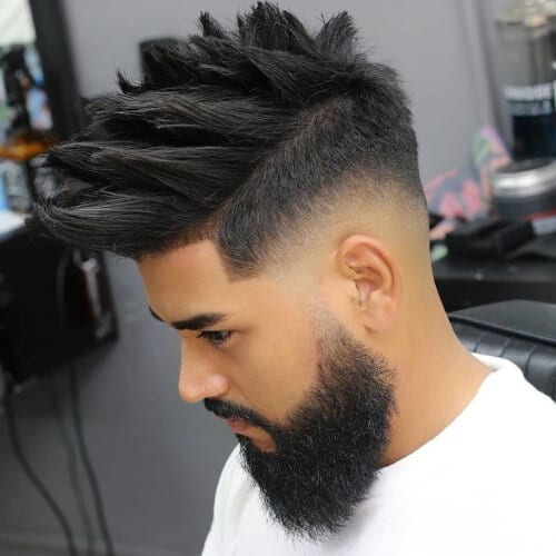 Piecey Hairstyles for Men with Straight Hair