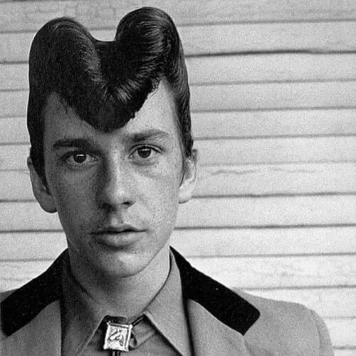 Pure Rockabilly 1950s Mens Hairstyles