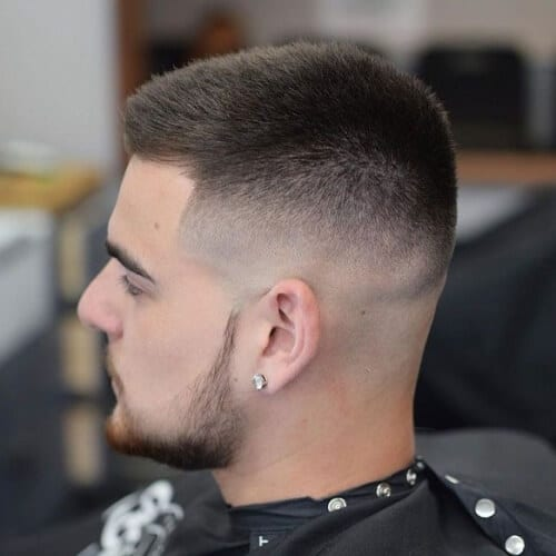 Skin Fade Hairstyles for Straight a­nd Thick Hai­r