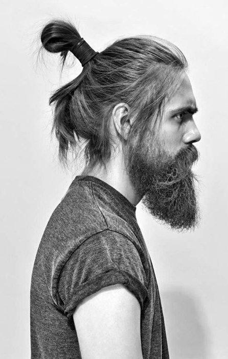 A Viking Samurai Bun