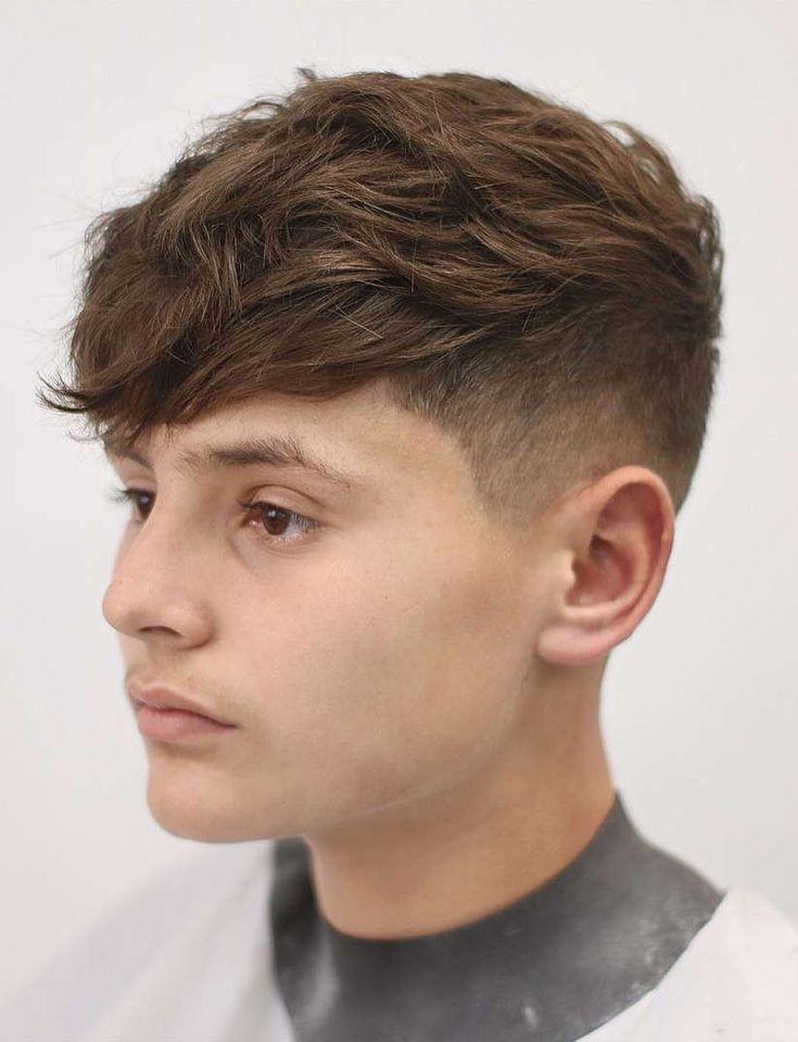 Angular mens fringe hairstyles