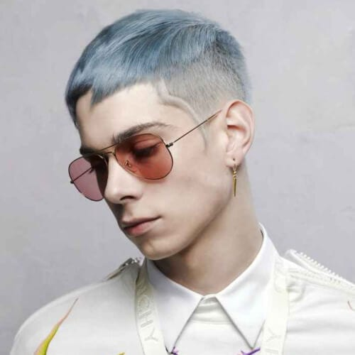 Artsy Punk Hairstyles For Guys