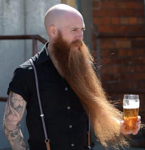 Bald Viking With Long Beard