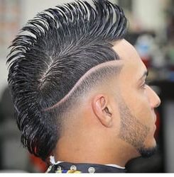 Barbershop Punk Hair