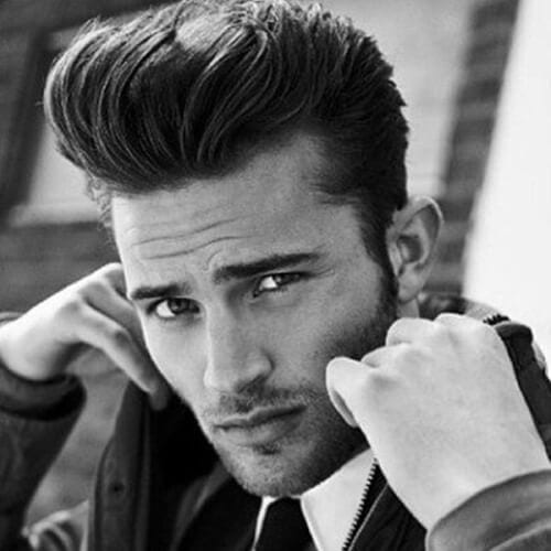 Classic Pompadours 50s Mens Hairstyles
