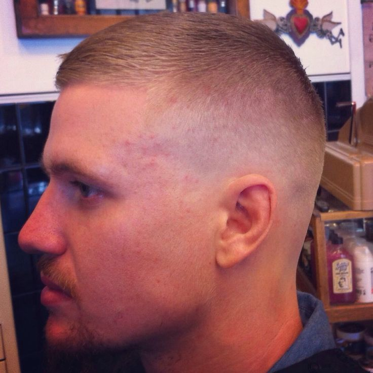 Crew Cut With Fade
