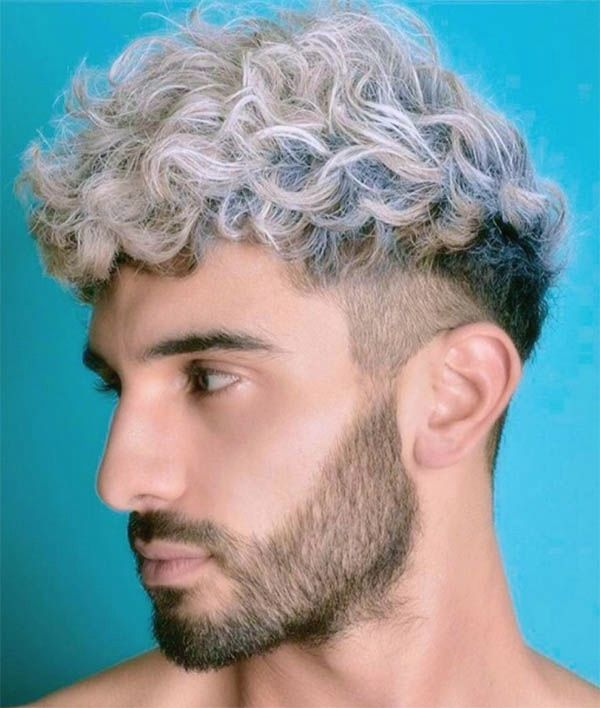 Curly Top With Undercut