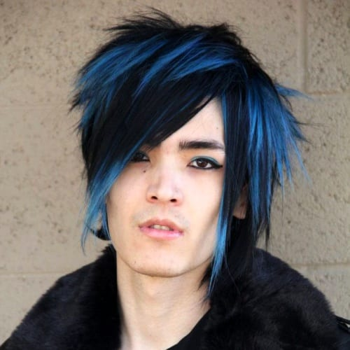 Emo Punk Hairstyles for Guys