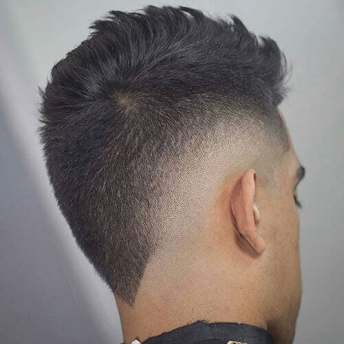 Faux Hawk Punk Hairstyles for Guys