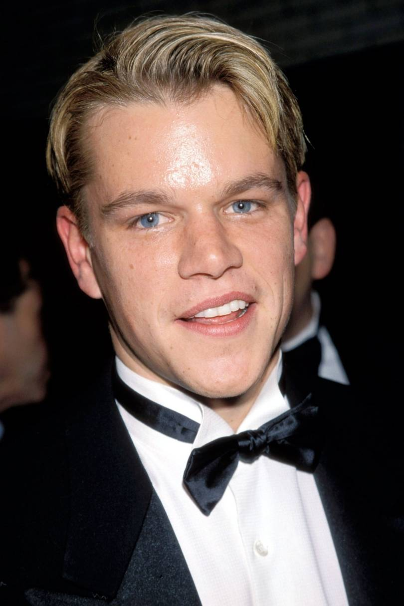 Hair Matt Damon