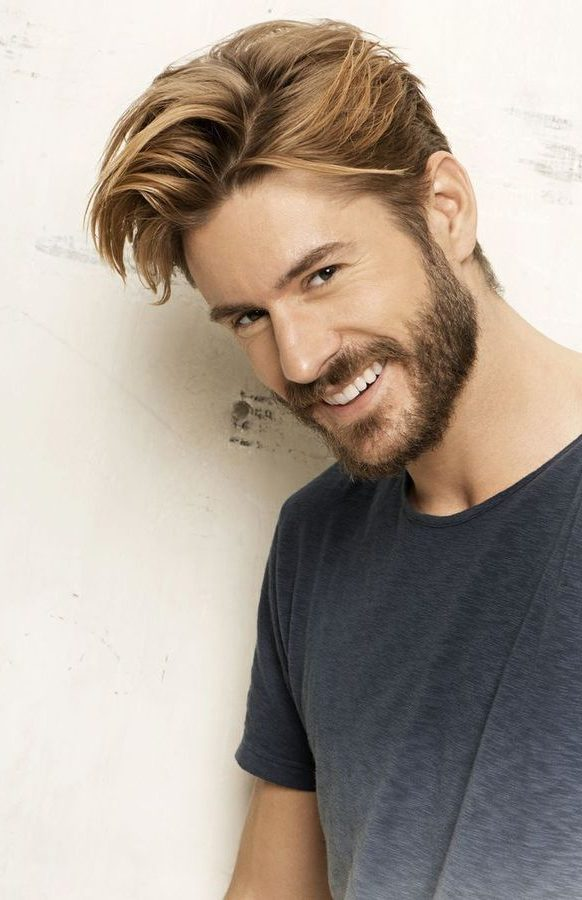Ideas of Hairstyles for Dirty Blonde Hair Men