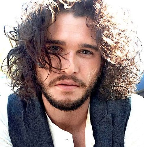 Kit Harrington Messy Hairstyles for Men