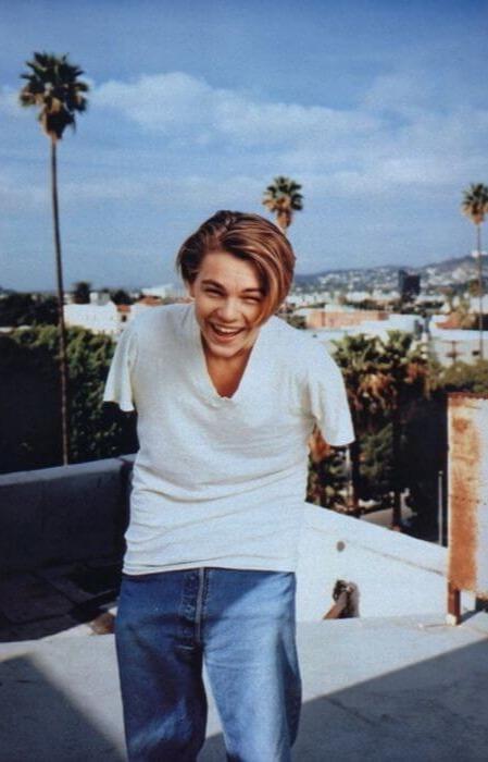 Leonardo's Style 90s hairstyles men