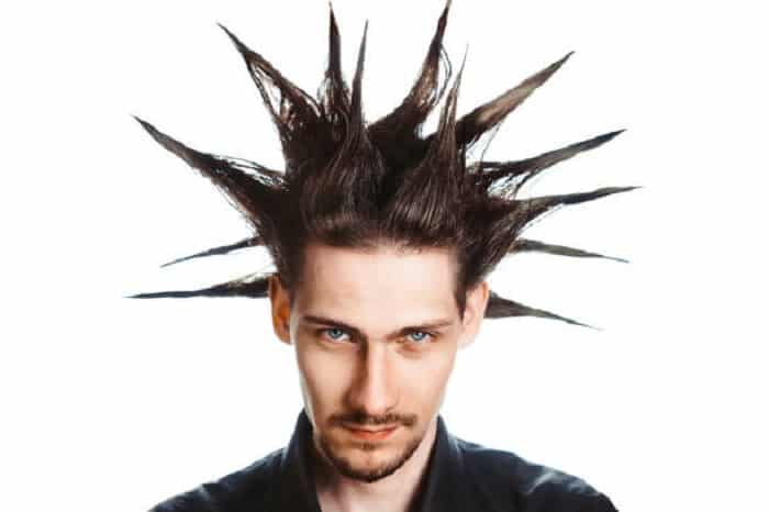 Liberty Spikes Mens Punk Hairstyles