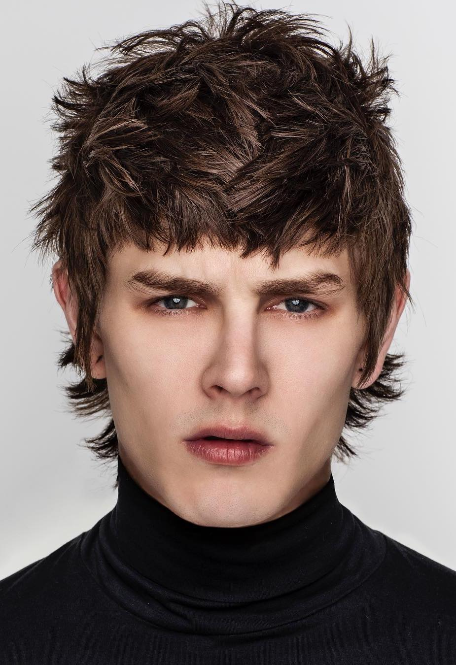 Long and Textured with mens fringe hairstyles