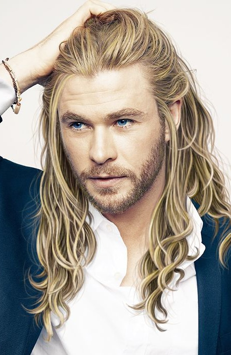 Long Blonde Hair Guy