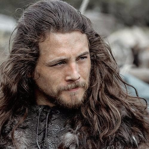 Long Slick Back Style viking hairstyles