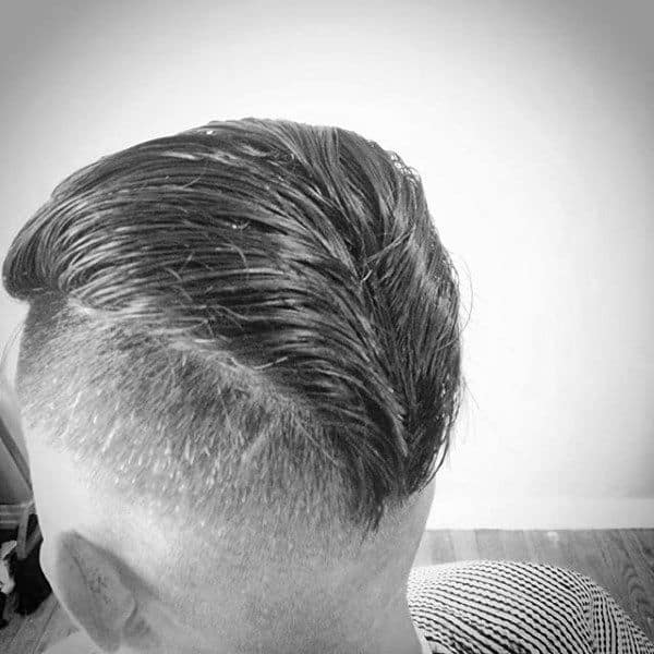mens 50s hairstyle Reverse Trunk