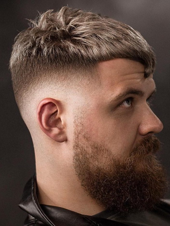 mens fringe hairstyles That Golden Arc