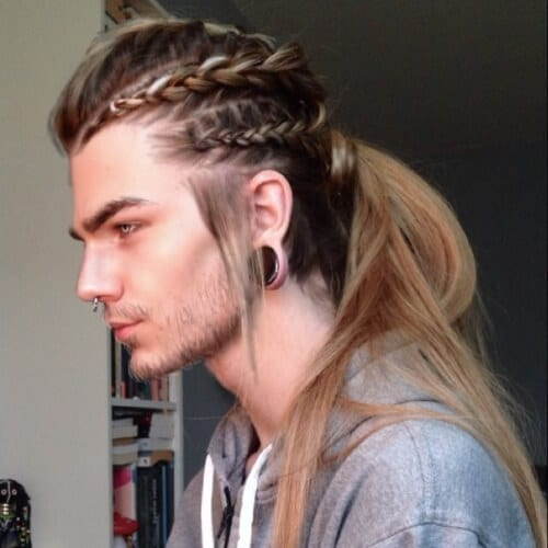 Mens Punk Hairstyles Viking Hairstyle