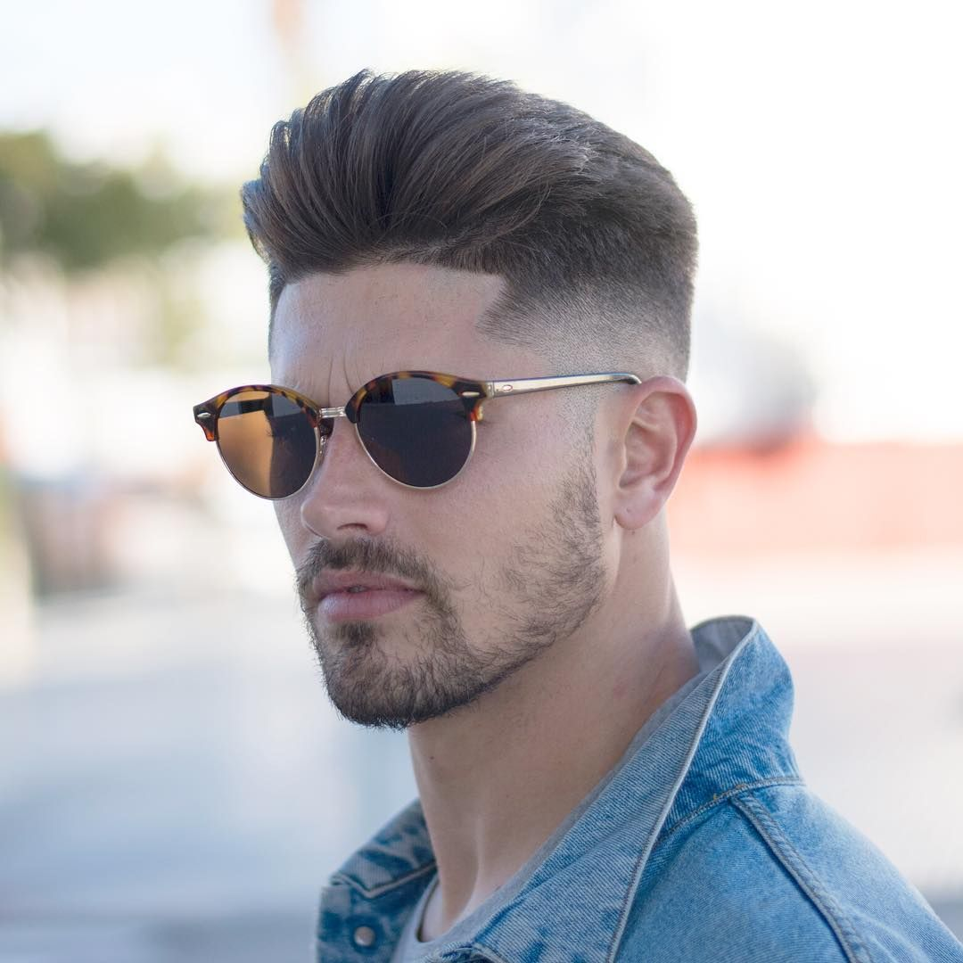 Mens Straightened Hairstyles Pompadour
