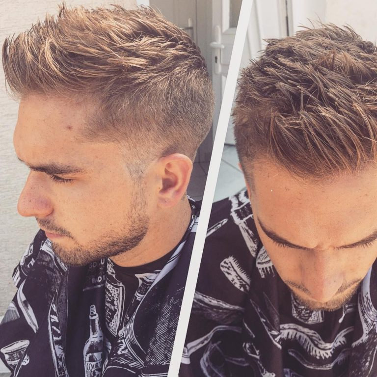 Mens Straightened Hairstyles The Faux Hawk