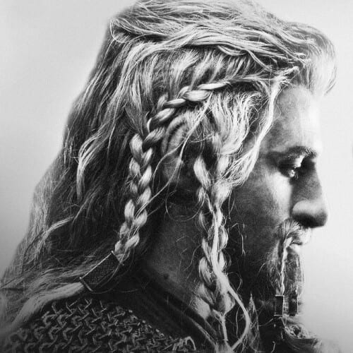 Messy Braids Viking Hairstyles