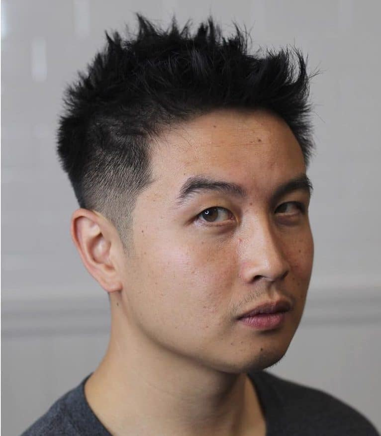 Messy Spikes Messy Hairstyles For Men