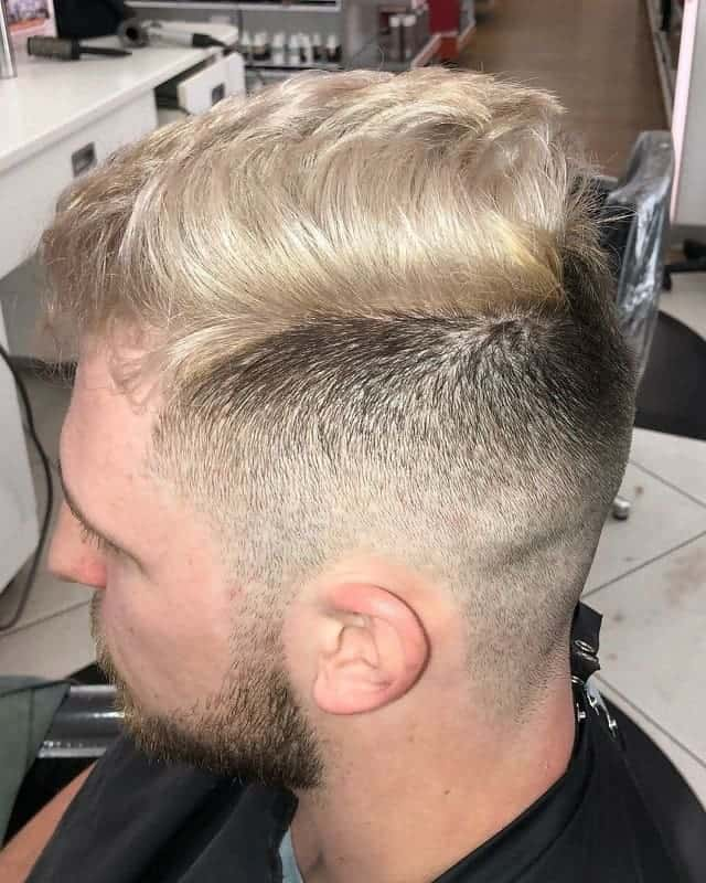Pompadour With Undercut