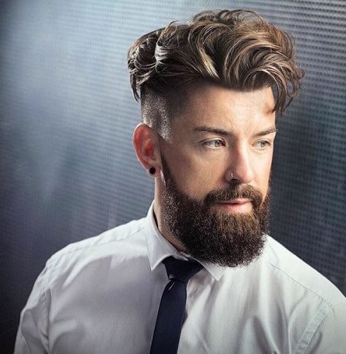 Pompadours Mens Punk Hairstyles