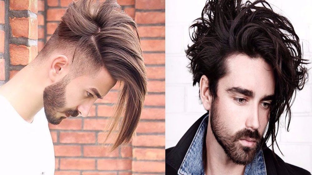 Punk Hairstyles Super Long Undercut