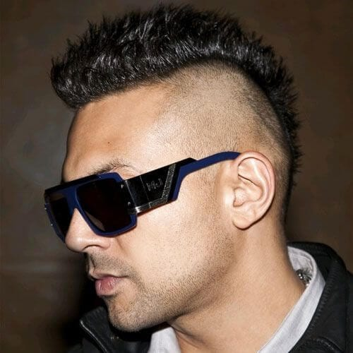 Short Hair Mohawk Punk Hairstyles