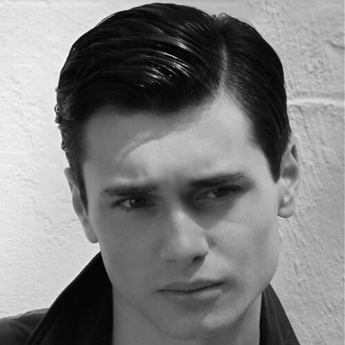 Side Part 50s Mens Hairstyles