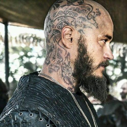 Tattooed Viking Style
